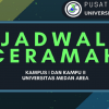 Jadwal Tausyiah Harian Bulan April 2018 Kampus I dan II Universitas Medan Area