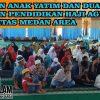 Yayasan Pendidikan Haji Agus Salim Memberikan Santunan Anak Yatim dan Kaum Duafa di Masjid Taqwa Universitas Medan Area Kampus I