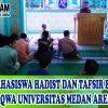 Mahasiswa Universitas Medan Area Mengisi Kajian Rutin Ba'da Ashar di Masjid Taqwa Kampus I Universitas Medan Area