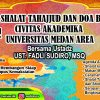 Dzikir, Tahajud dan Doa Bersama Seluruh Civitas Akademika Universitas Medan Area Oktober 2018