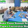 Program Buka Puasa Sunnah Senin Kamis BKM At-Taqwa Universitas Medan Area