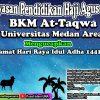 BKMT Universitas Medan Area Mengucapkan Selamat Hari Raya Idul Adha 1441 H