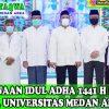 Pelaksanaan Idul Adha 1441 H di Masjid At-Taqwa Universitas Medan Area