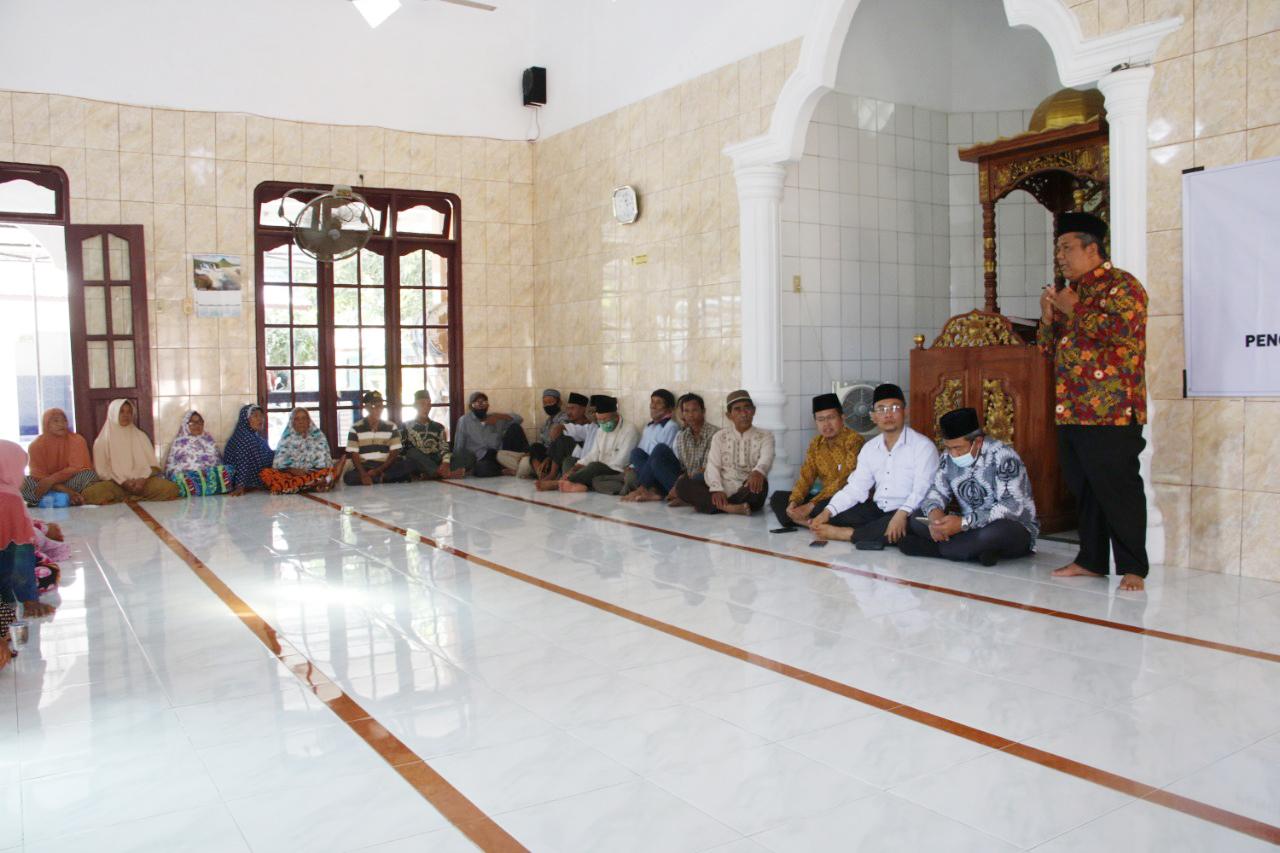 Santunan Kaum Dhuafa di Kota Langkat Bersama BKM At-Taqwa UMA 1